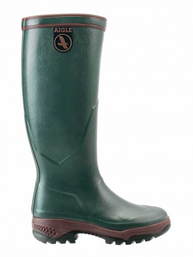 Aigle Parcours 2 Welly Boot - Bronze (Dark Green)