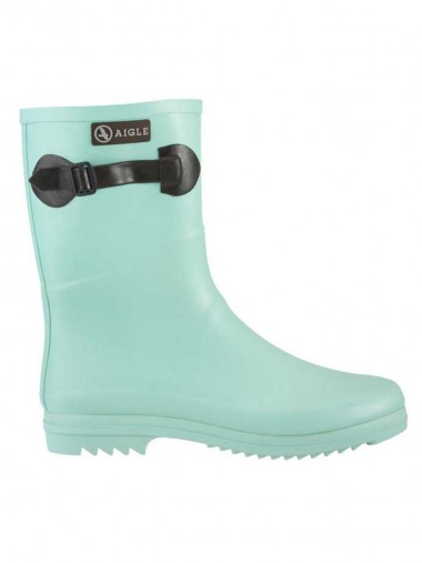 Aigle Chanteboot Pop Short Welly Boot 2014 - Jade