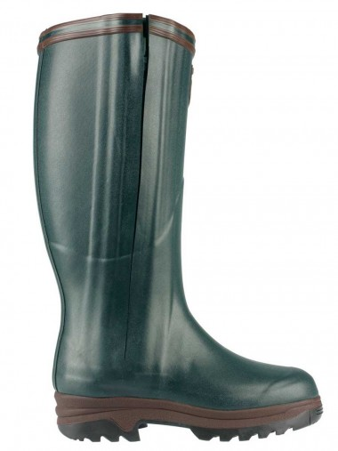 Aigle Parcours Iso Open Full Zip Neoprene Lined Boot