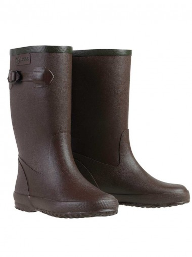 Aigle Children's Fleece Lined Welly boots