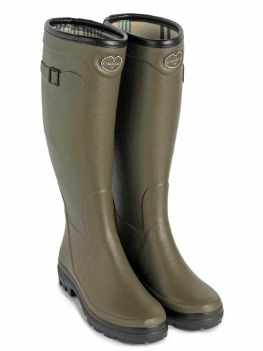 Le Chameau Country Lady Boot - Green
