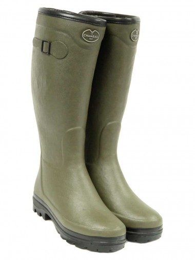 Green - Le Chameau Country Lady Fourrée Boot