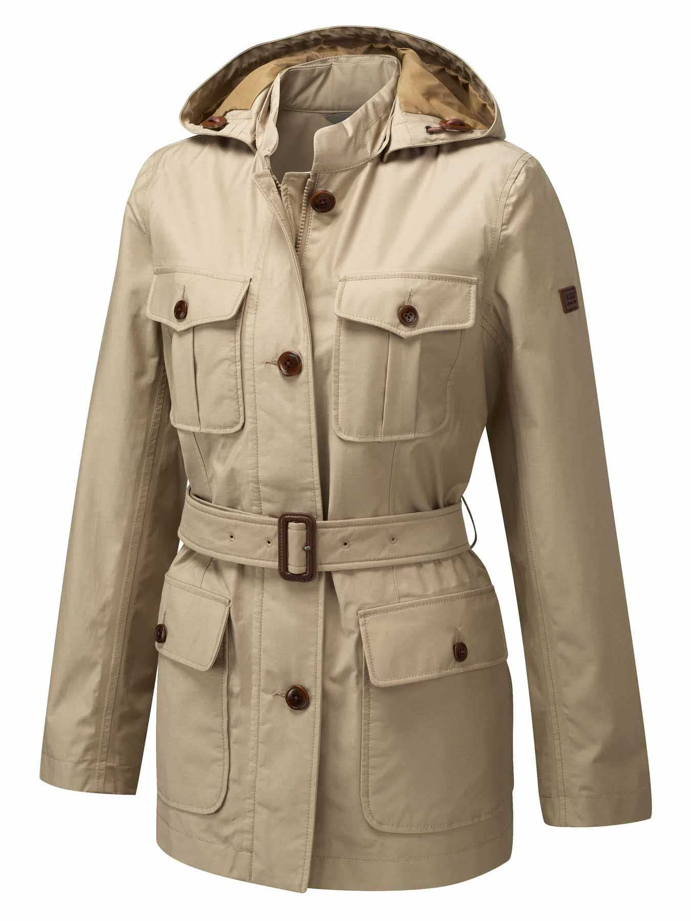 A safari jacket or bush jacket is a garment originally designed for the purpose of going on safari in the African bush. When paired with trousers or shorts, it becomes a safari suit. A safari jacket is commonly a lightweight cotton drill or lighter poplin jacket.