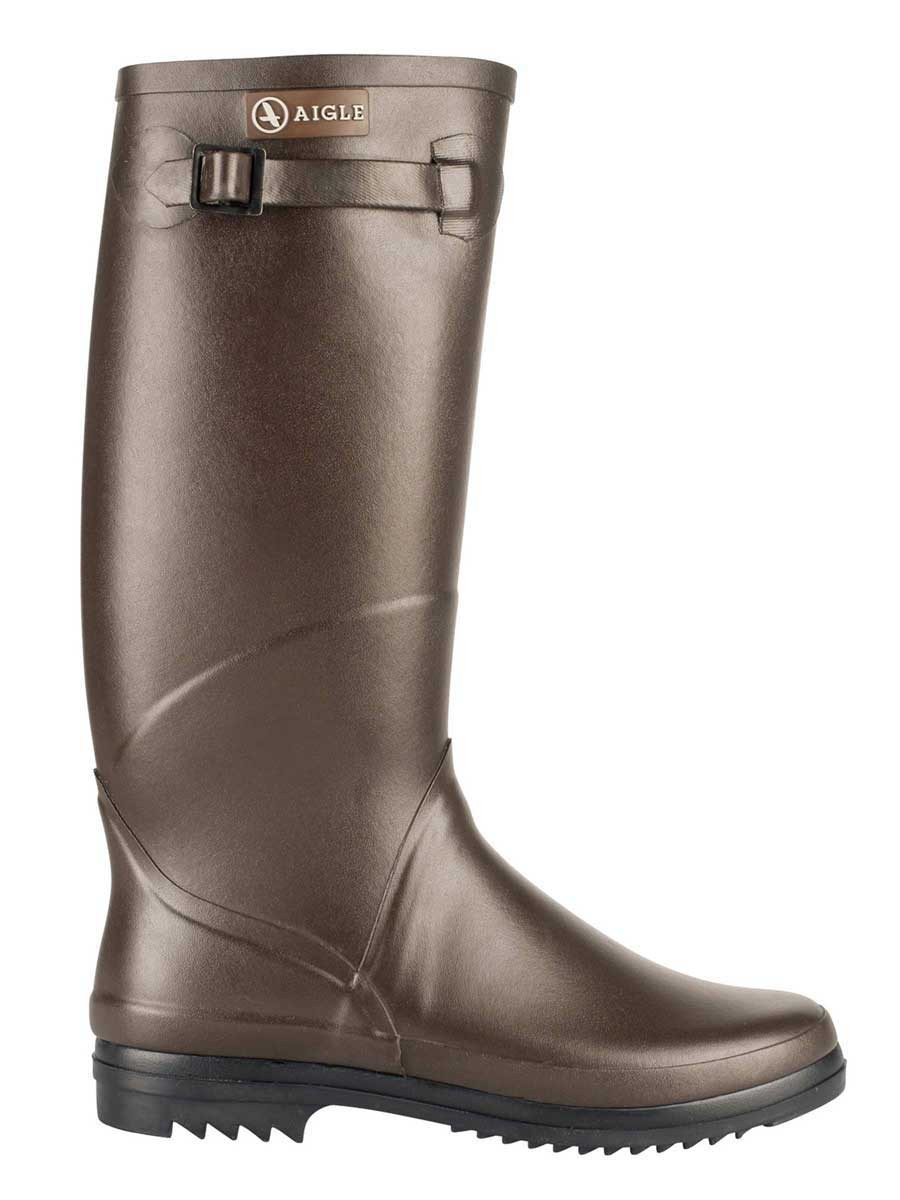 Aigle Chantebelle Welly Boot - Brown