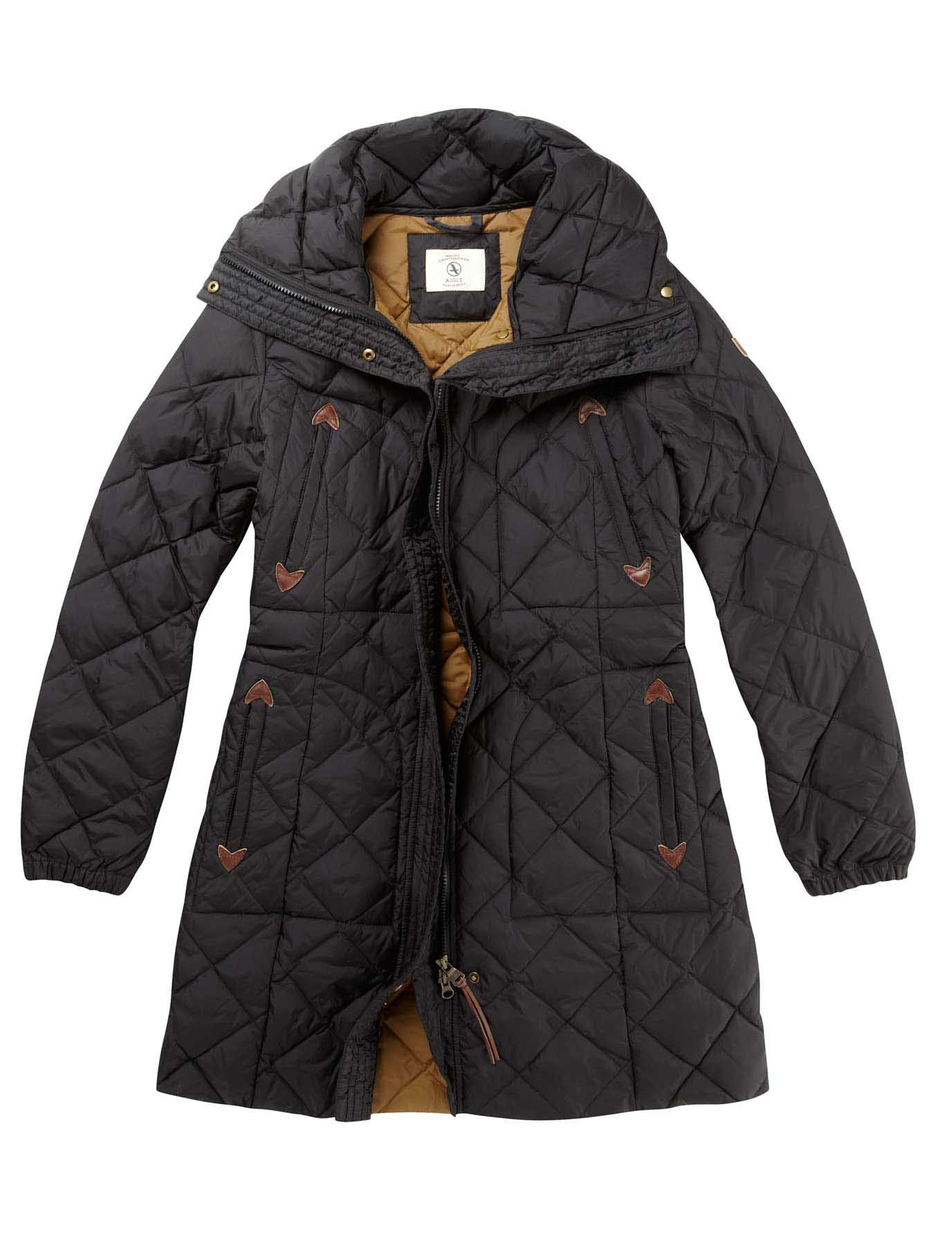 55e507c6ffa Aigle Emee Quilted Duck Down Coat