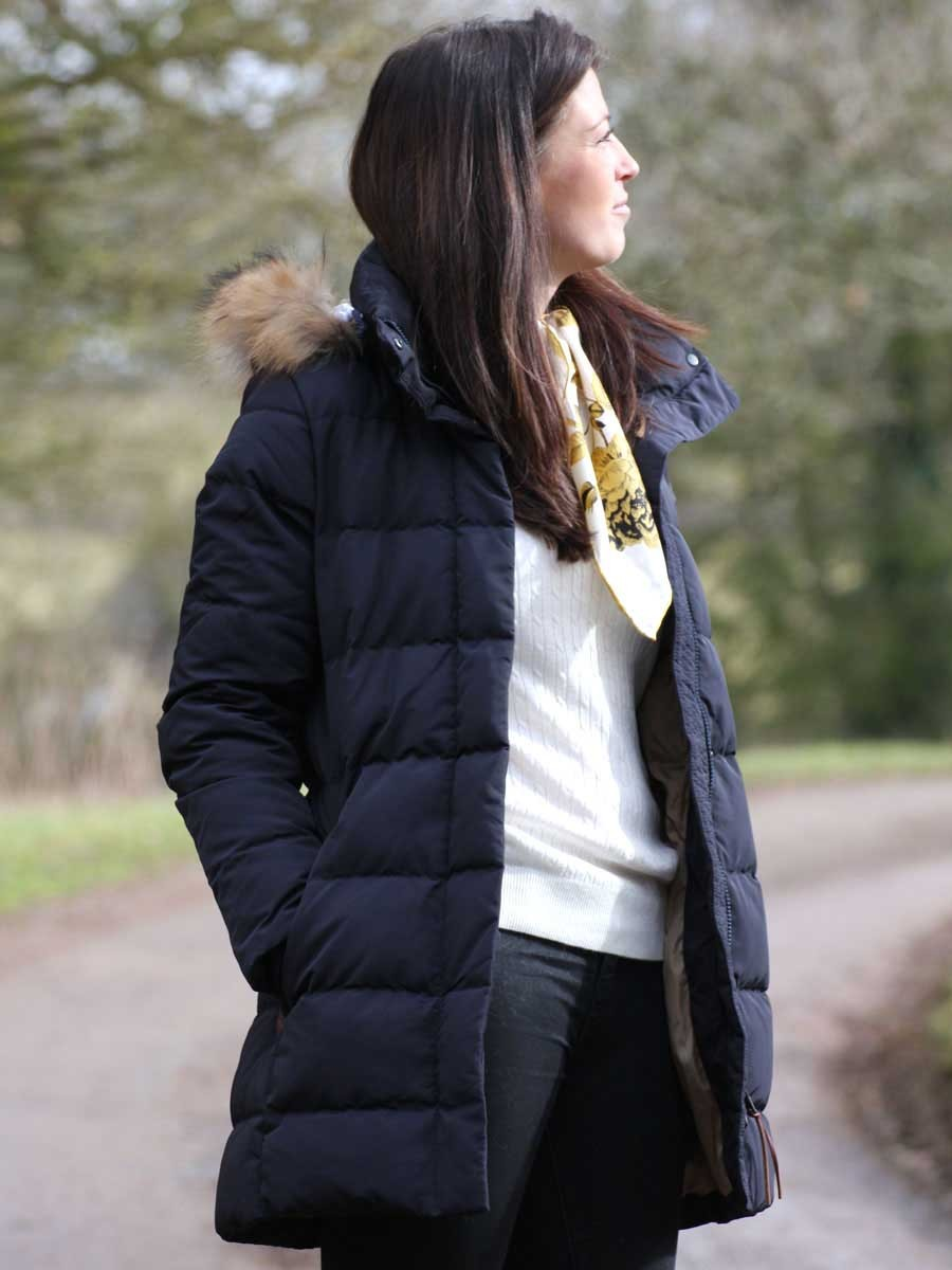1cf998394b35 Aigle Downshine Women s Padded Down Jacket - Aigle Duck Down Outdoor Coat  Range - Aigle Insulated Down Jacket - available from webury.com