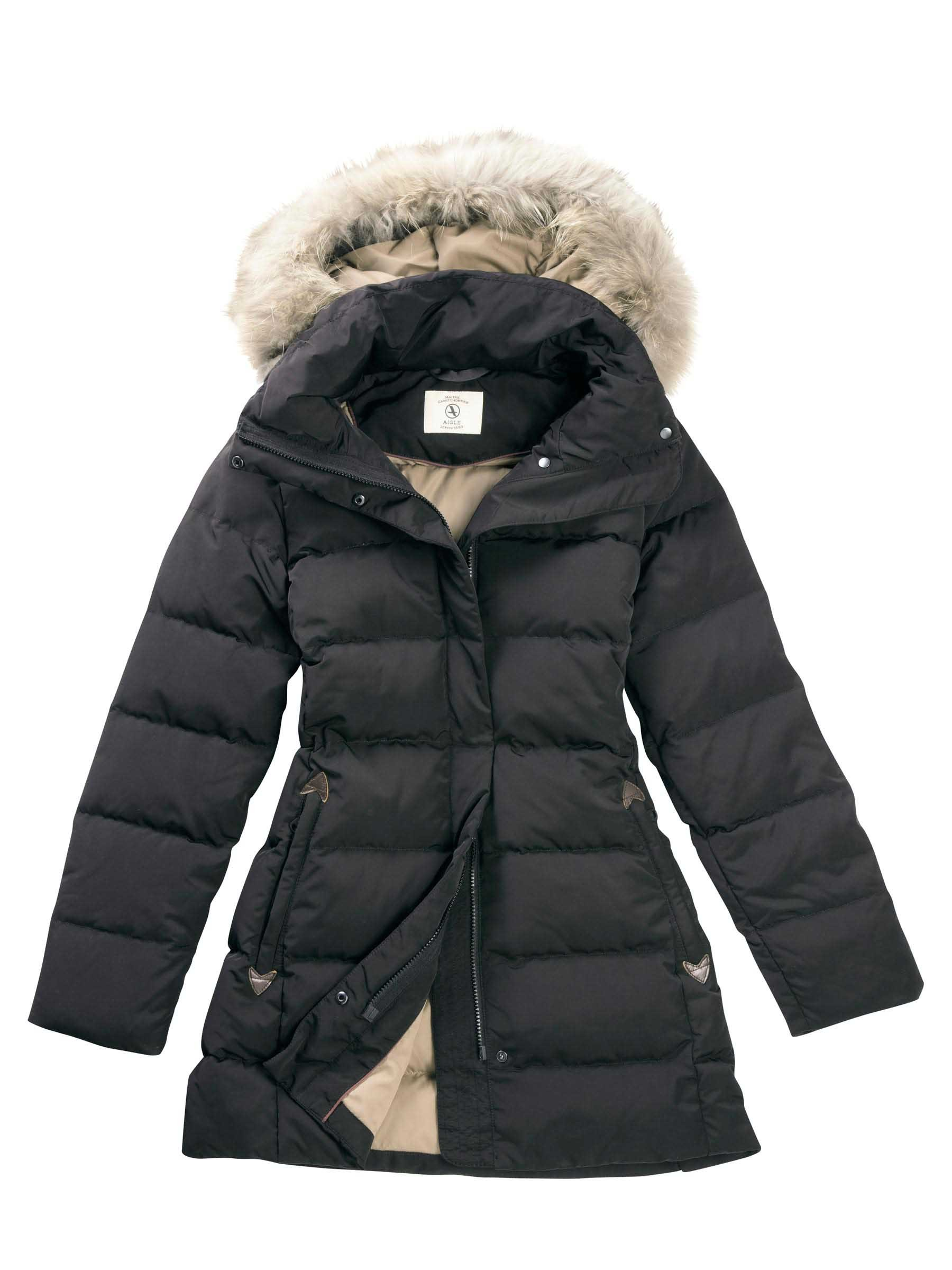 Aigle Downshine Women's Padded Down Jacket - Aigle Duck Down ...
