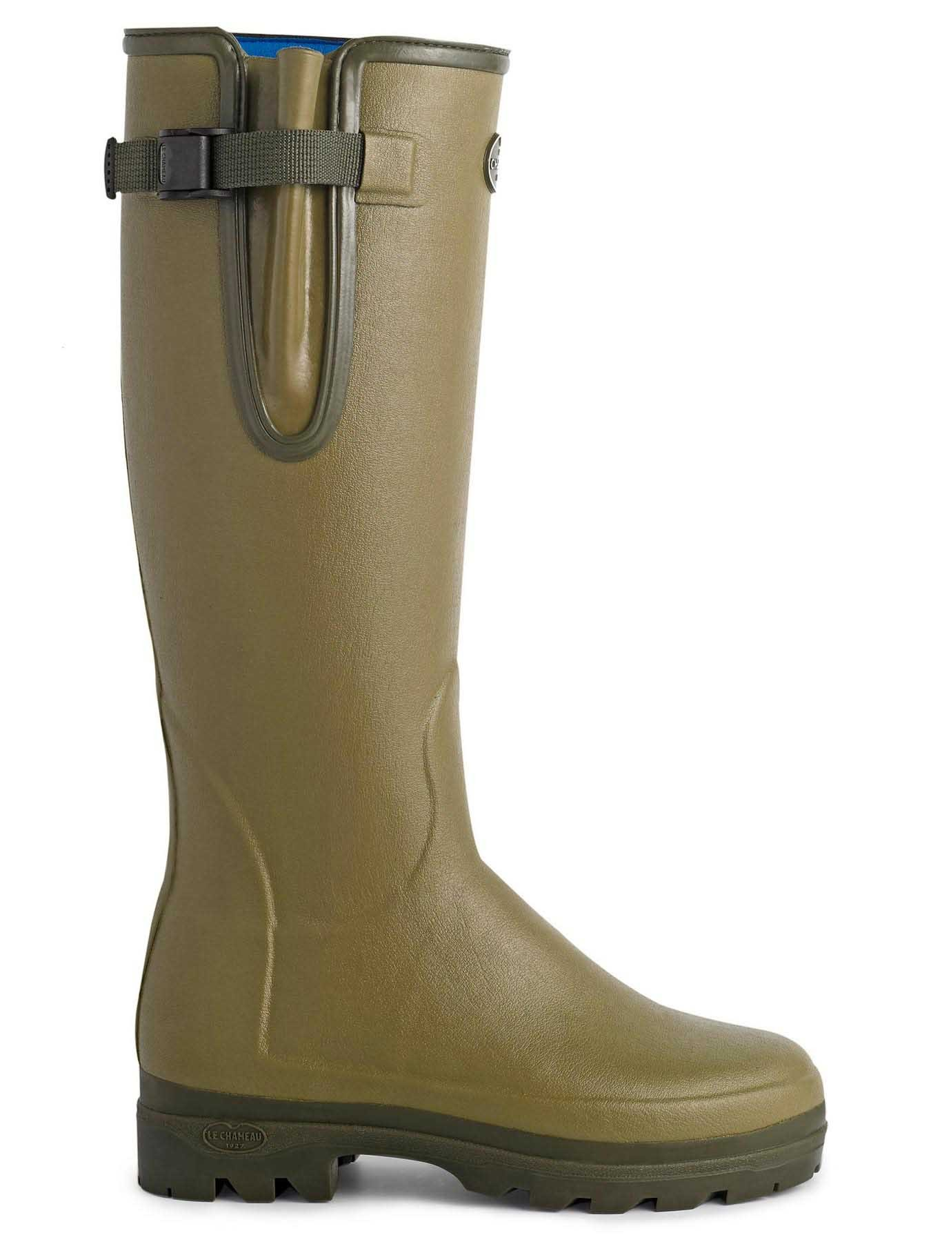 Men S Le Chameau Vierzonord Neoprene Lined Boot