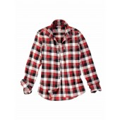 Aigle 'Woodcut' Brushed Cotton Men's Shirt