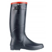 Aigle Chantebelle Slim Calf Welly Boot - Navy Blue