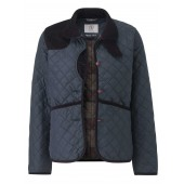 Aigle Womens Fitzsimons Quilt - Midnight (Navy Blue)