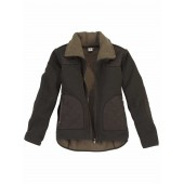 Aigle Women's 'Lancelot' Fleece Jacket - Bronze (Dark Green)