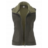 Aigle Leighton Fleece Gilet - Bronze (Dark Green)