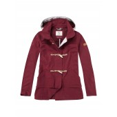 Aigle Dufflepark Ladies Jacket - Burgundy