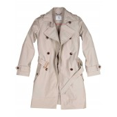 Aigle Trenchy Ladies Waterproof Coat - New Sable