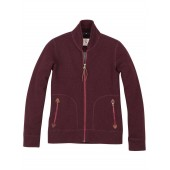 Aigle Aurore Wool Fleece Jacket - Light Berry