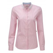 Calisse Women's Oxford Cotton Shirt from Aigle - Petale Pink Stripe