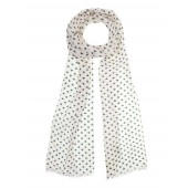 Flowerly Silk and Cotton Scarf from Aigle