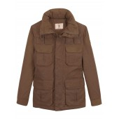 Aigle Macbey Padded Wax Jacket