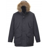 Aigle Men's Wolfcreeker Duck Down Waterproof Parka - Midnight