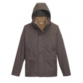 Aigle Woodrow Waterproof Winter Coat - Cacao (brown) D4839