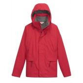 Aigle Woodrow Waterproof Winter Coat - CRIMSON (red) D4838