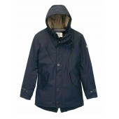 Aigle Mens Lambson Fishtail Parka - Navy