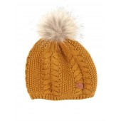 Aigle Lukybeany Cable Knit Beanie - Mordore