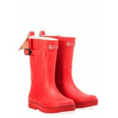 Aigle Children's Woody Pop Welly Boot, Cerise