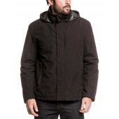 Noir (Black), Aigle Men's Searock Waterproof & Breathable Jacket