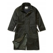Aigle Epony Overcoat, Dark Green