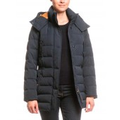 Aigle Skydown Long Urban Down Coat, Midnight