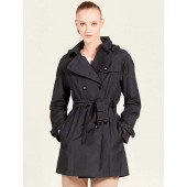 Aigle Attalea Classic Trench Coat, Midnight