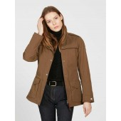 Aigle Women's Parcours LD Country Parka, Brown