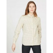 Aigle Huntjack LD Ladies Checked Shirt, New Naturel