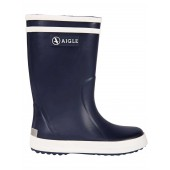 Aigle Lolly Pop Kids Welly Boot - Navy Blue