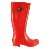 Aigle Brillantine Glossy Welly Boot -Ruby