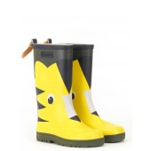 Aigle Woody Pop Fun Welly Boot, Tigre (Tiger)