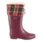 Aigle Polka Giboulee Quilted Top Welly Boot